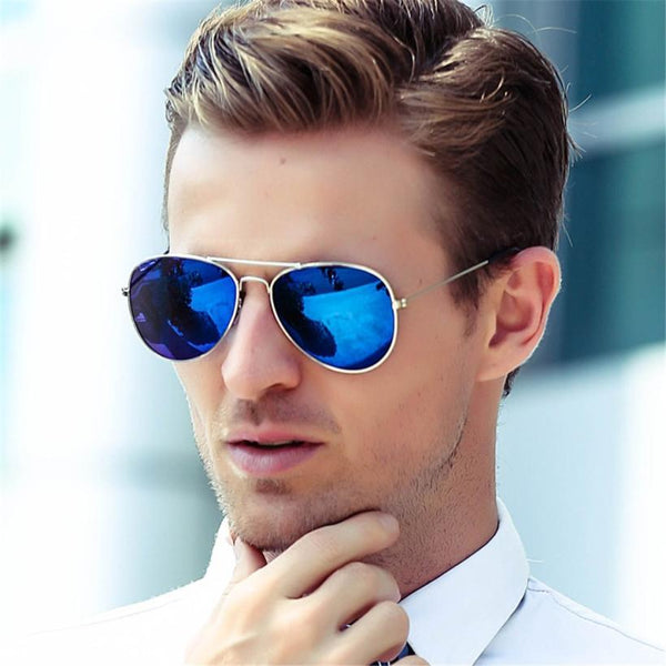 Classy Mirror Aviator Sunglasses For Men And Women-SunglassesTrendz