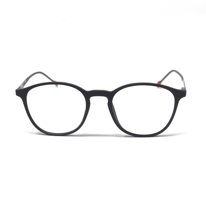 Oval Shape Black Eyewear