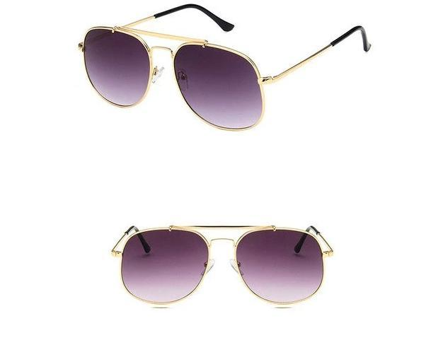 Stylish Metal Square Sunglasses For Men And Women-SunglassesTrendz