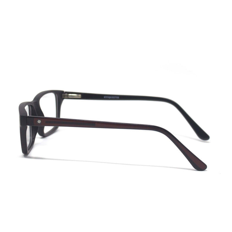 Stylish Retro Square Black Optical Eyewear