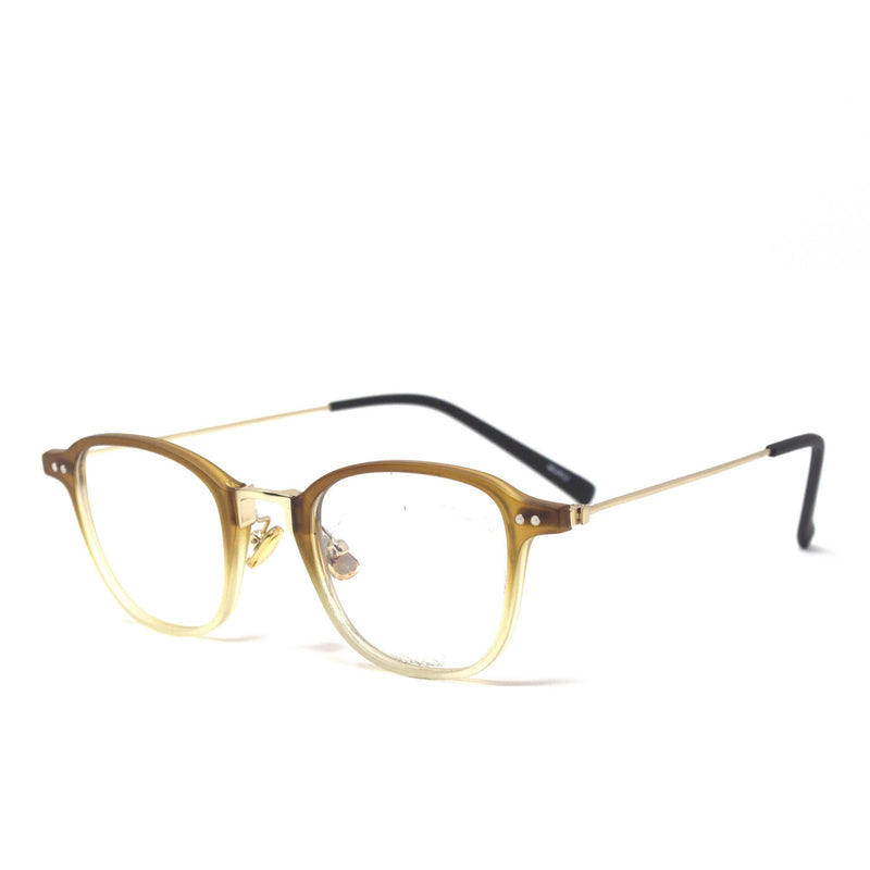 Square Brown Frame Eyewear
