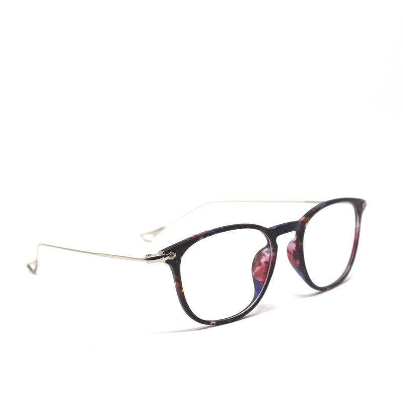 Oval Square Multicolor Frame Eyewear