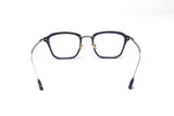 Square Shape Dark Blue Frame Eyewear