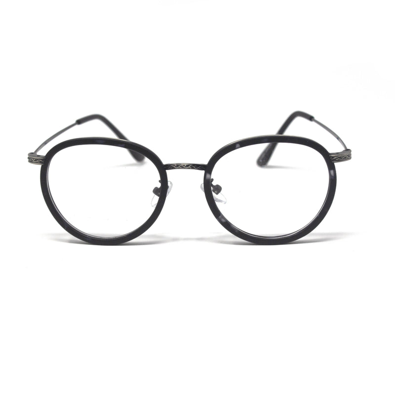 New Black Round Frames Eyewear