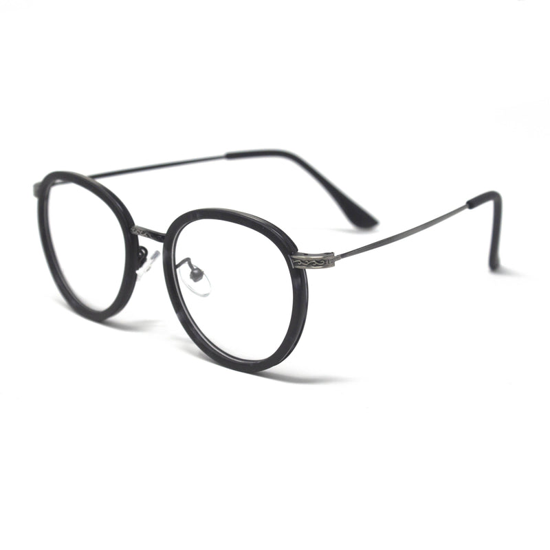 Stylish Optical Black Round Frame Eyewear