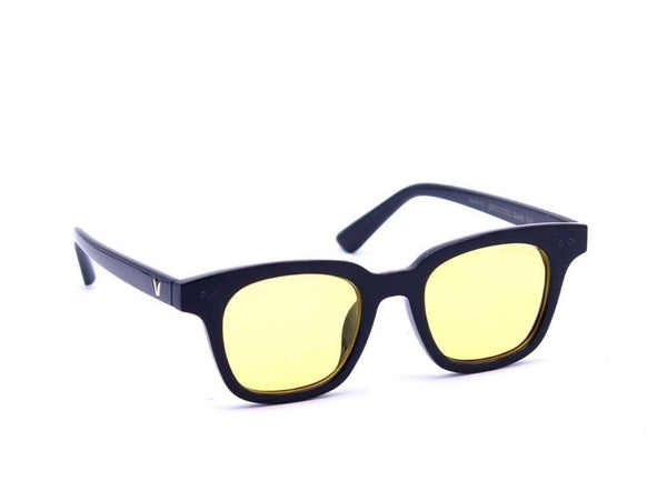 SunglassesTrendz Stylish Yellow Monster Wayfarer Sunglasses