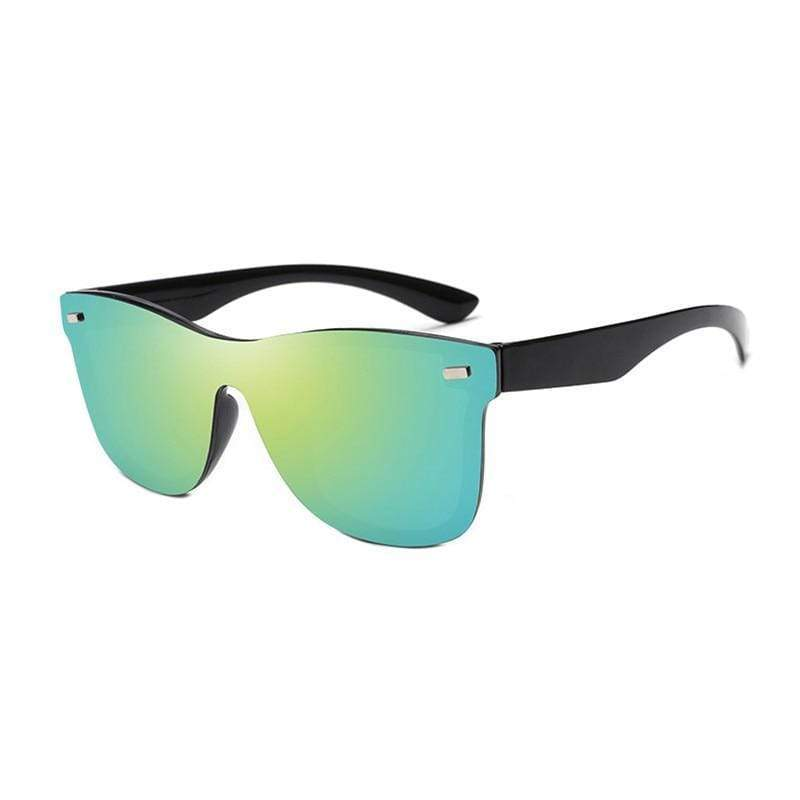 Blaze Rimless Wayfarer Sunglasses For Men And Women -FunkyTradition Premium FunkyTradition