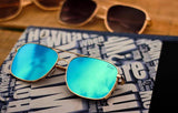 Stylish War Movie Square Vintage Sunglasses For Men-SunglassesTrendz