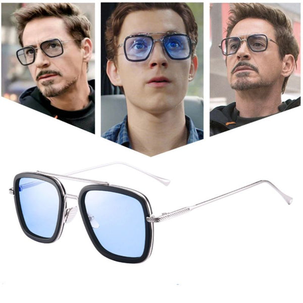 New Trend Avengers Tony Stark Sunglasses For Men And Women -SunglassesTrendz