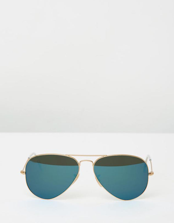 Men And Women Blue Aqua Mirror Aviator Sunglasses-FunkyTradition Premium FunkyTradition