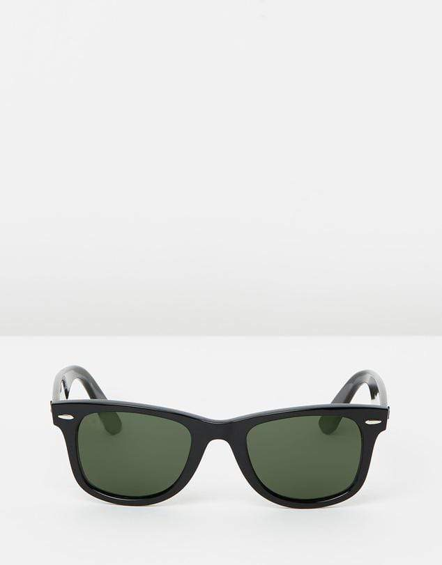 Unisex Black Square Wayfarer Sunglasses-FunkyTradition Premium FunkyTradition