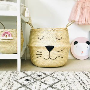 Natural Cat Basket - Extra Large
