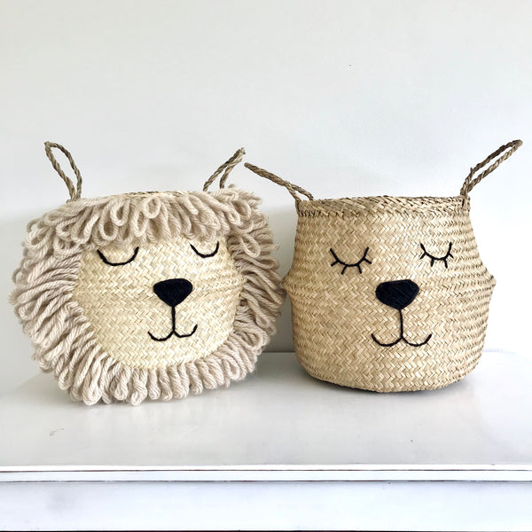 Natural Lioness Basket - Large