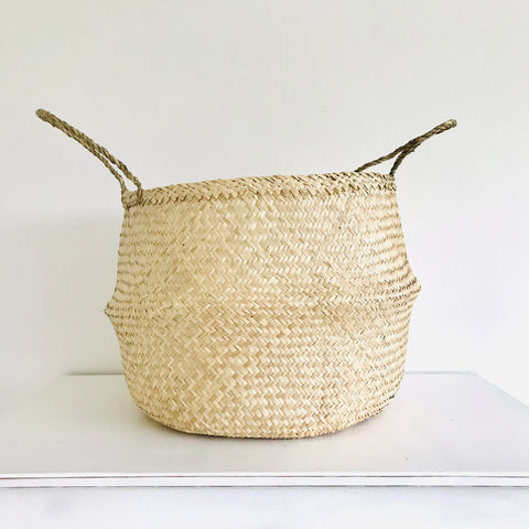 Plain Seagrass Basket - Extra Large