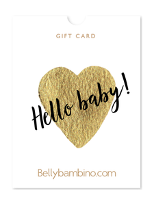 Bellybambino New Baby Gift Card!