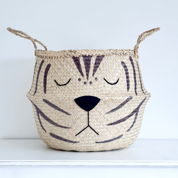 Natural Tiger Basket - Extra Large