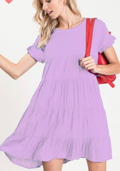 Swing Around Midi dress