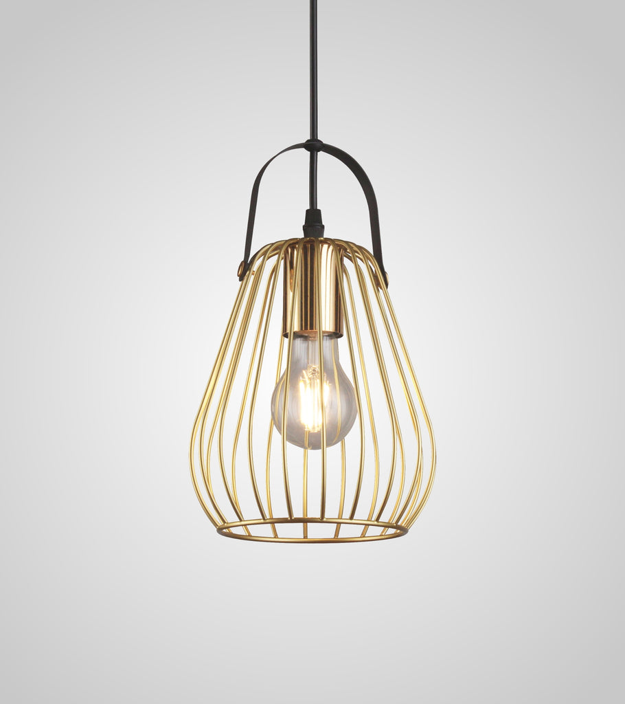 cage pendant lights