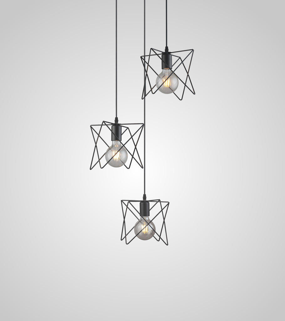 Hutch 3 pendant light
