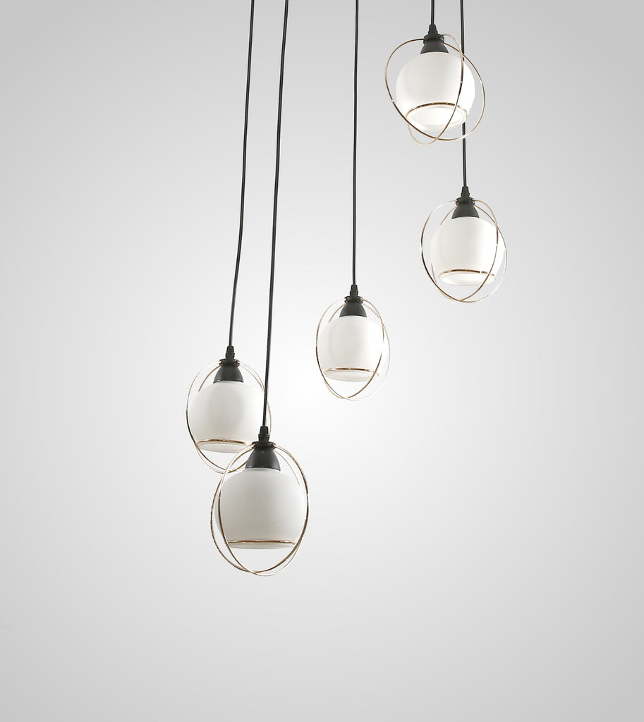 Lynk 5p pendant lights