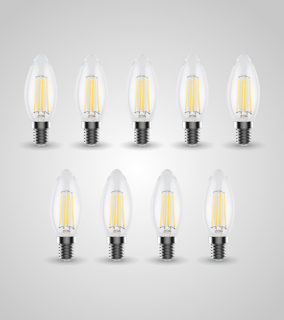 E-14 Candle Bulb (4W)(Set of 9)
