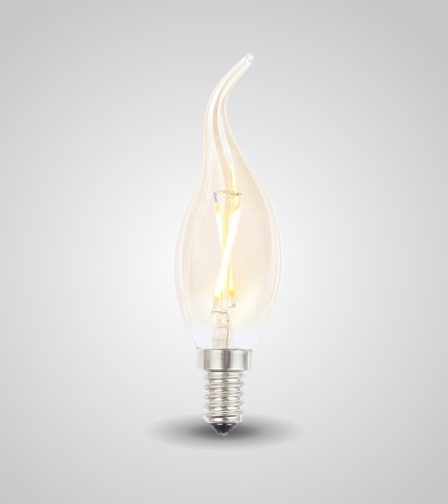 E-14 Flame Bulb (6W)(Set of 4)