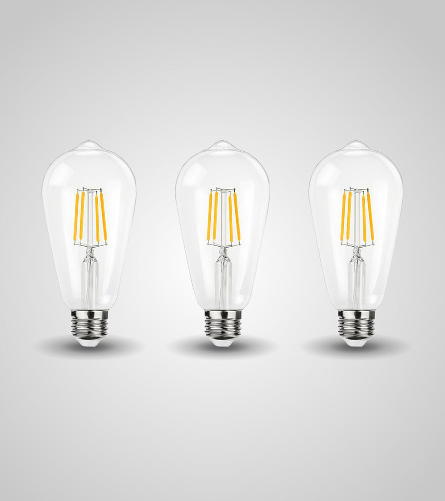 E-27 Traditional Bulb (4W)(Set of 3)