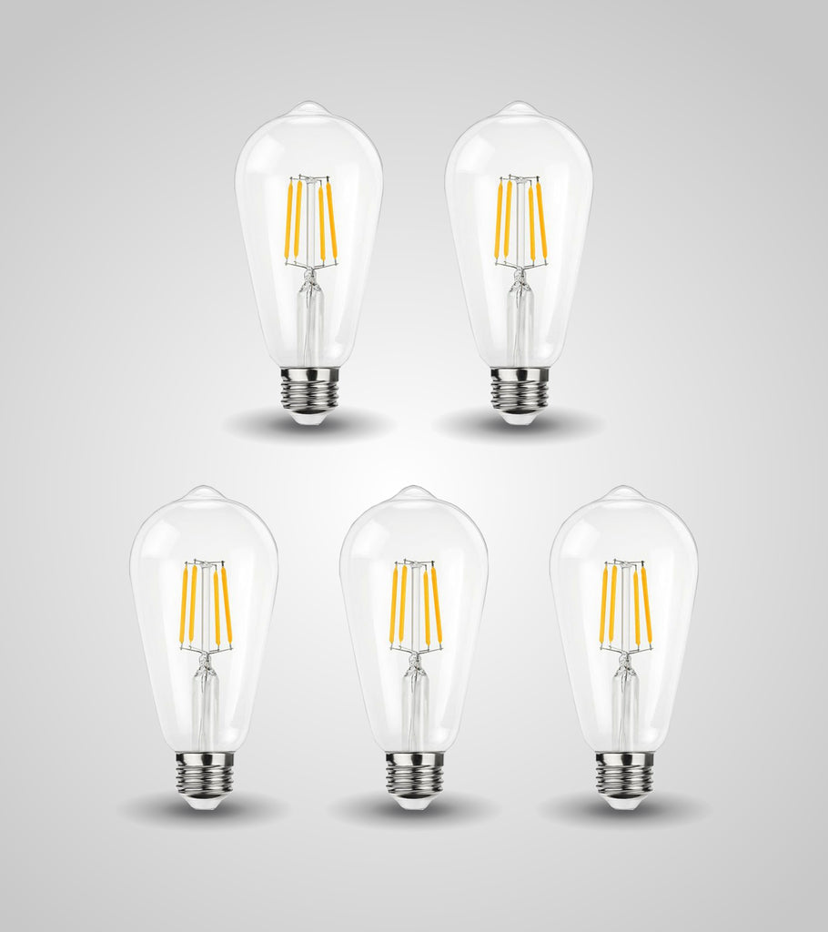 E-27 Traditional Bulb (4W)(Set of 5)