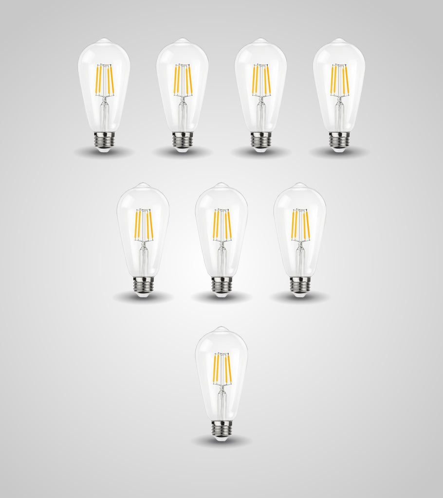 E-27 Traditional Bulb (4W)(Set of 8)