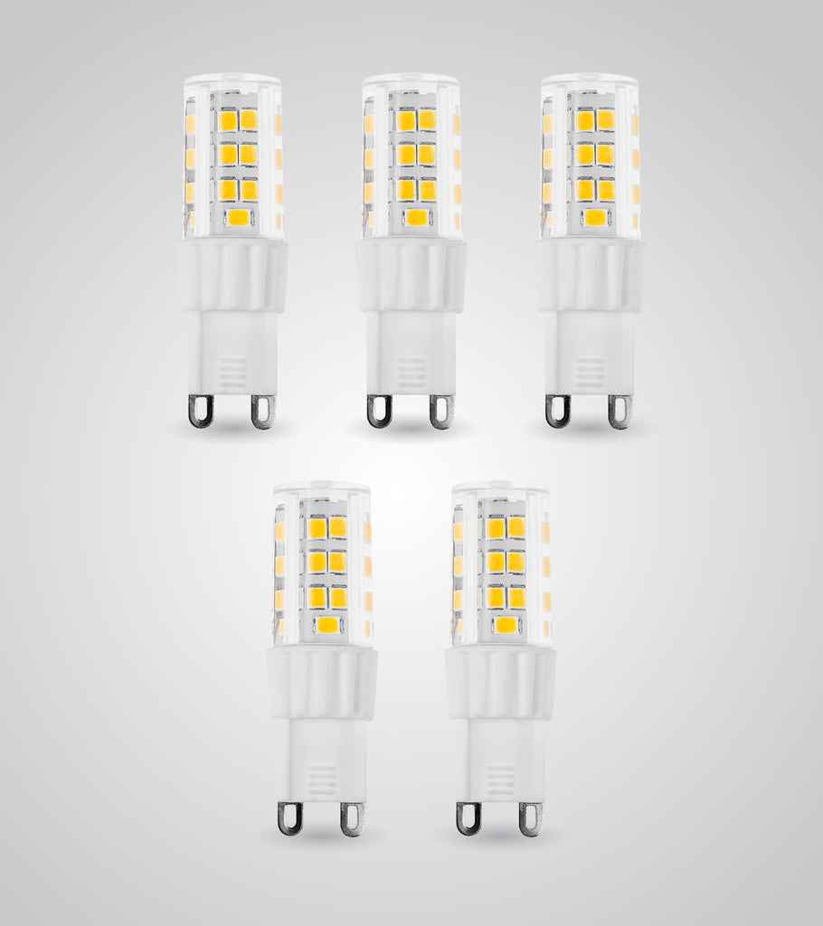 G9 LED Dimmable SMD Bulb (3.5W)(Set of 5)