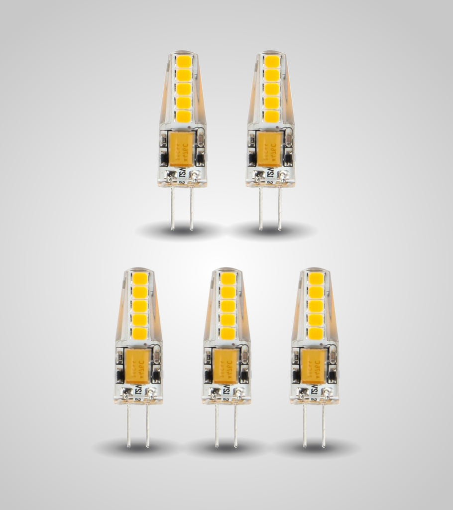 LED G4 Micro Bulb (3W)(Set of 5)