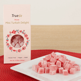 Truede Mini Rose Flavour Turkish Delights 150g