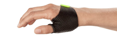 Short Thumb Opponens Orthosis in Orfilight Black NS.