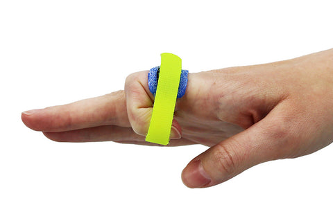 Static progressive finger flexion cuff in Orficast 3 cm.