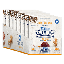Load image into Gallery viewer, Piller's Salami Chips Mild 85g
