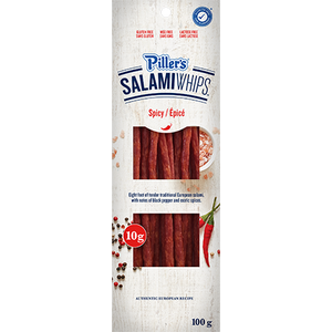 Piller's Salami Whips Spicy 100g
