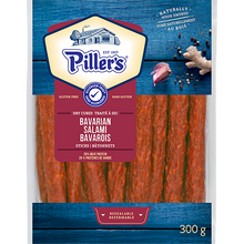 Load image into Gallery viewer, Piller's Bavarian Salami Sticks 300g
