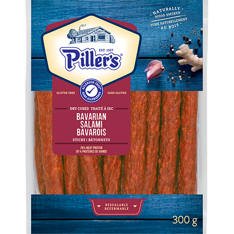 Piller's Bavarian Salami Sticks 300g