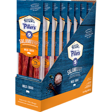 Load image into Gallery viewer, Piller's Salami Whips Mild 8 x 60g (480g)