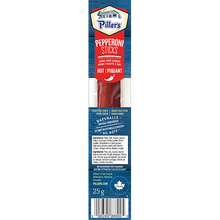 Load image into Gallery viewer, Piller's Pepperoni Sticks Hot 12 x 25g (300g)