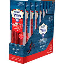 Load image into Gallery viewer, Piller's Salami Whips Spicy 8 x 60g (480g)