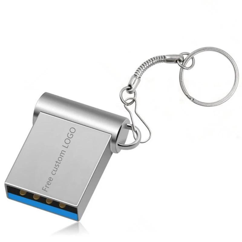 Mini USB 3.0 32GB 64GB Real capacity usb flash drive 128GB pendrive 16GB 8GB pen drive u disk flash memory stick free shipping (4255942672493)
