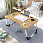 (កម្មង់មុន)-Portable Laptop Desk Home Foldable Laptop Table Notebook Study Laptop Stand Desk for Bed & Sofa Computer Table with Folding Legs (4313793757293)