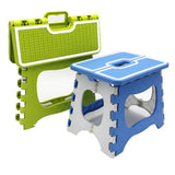 TWISTER.CK Folding Stool Thick Plastic Heavy Duty Step Stool for Home Outdoor Rest Tool (4182095986797)