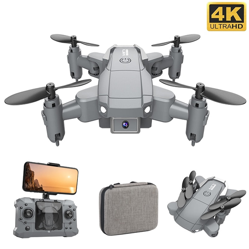 KY905 Mini Drone With 4K Camera HD Foldable Drones Quadcopter One-Key Return FPV Follow Me RC Helicopter Quadrocopter Kid's Toys