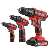 Cordless drill Power tools Household Multifunction Rechargeable battery Screwdriver Dremel (4191143166061)