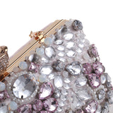 New Rhinestone Evening Bags Women diamond clutches Pearls Beaded Day Clutch Purses Handbag Wallet Lady Evening Party Wedding Bag (4316986245229)