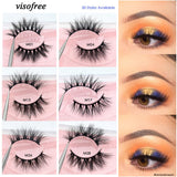 Visofree Mink Eyelashes 3D Mink Lashes Natural Flutter False Eyelashes Thick Lashes Cruel-free Mink Eyelashes Makeup cilios (4298328997997)