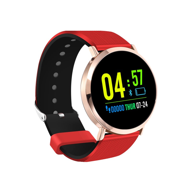 Women gift Smart band S5 color heart rate blood pressure monitor for Android IOS iphone xiaomi huawei PK Q8 S2 sports smartwatch (4307578683501)