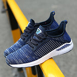 2019 New Men Shoes Lac-up Men Casual Shoes Lightweight Comfortable Breathable Couple Walking Sneakers Feminino Zapatos (4290795962477)